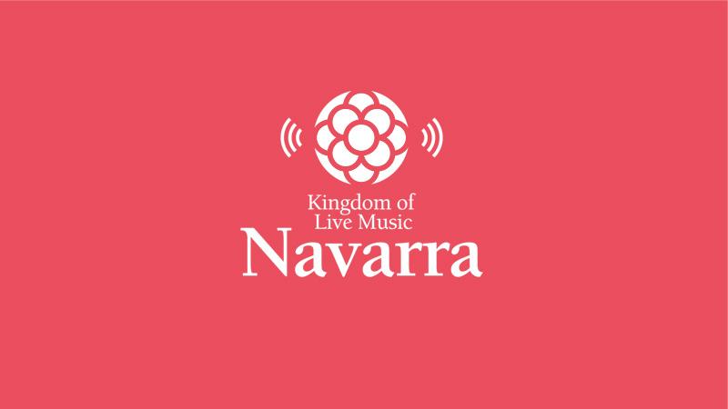 creatividad publicitaria NAVARRA KINGDOM OF LIVE MUSIC